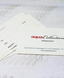 aquacollection presentkort