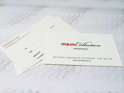 aquacollection presentkort