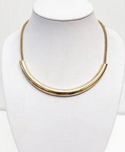 Halsband guldlänk