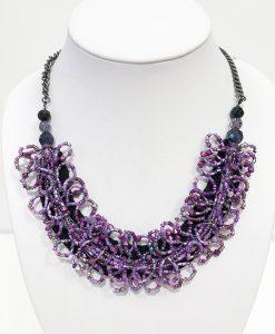 Halsband lila